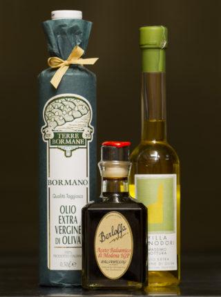 Öle und Aceto Balsamico