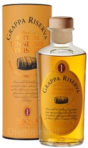 Grappa Riserva affinata in Botti da Tennessee Whiskey
