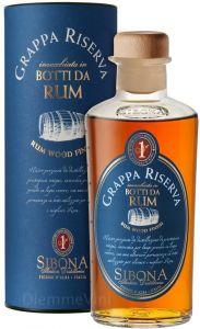 Grappa Riserva Invecchiato in Botti da Rum