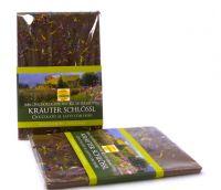 BIO- Südtiroler Milchschokolade mit Kräuterblüten 100g
